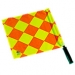 Referee assistant flags (2) 'Quadro Il'
